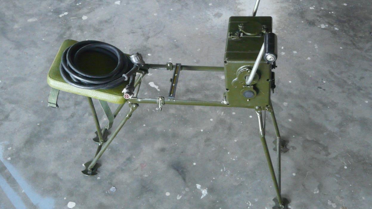 Us Military Crank Generator