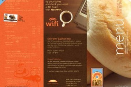 8 5 x11  Front Trifold Template   NY Bagel Cafe   Deli
