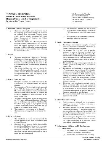 Hud Section 8 Application Form