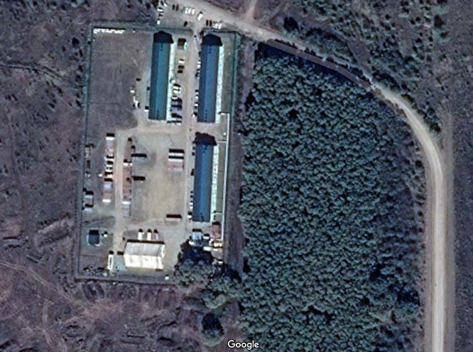 Google карталарындағы CHVK лагері