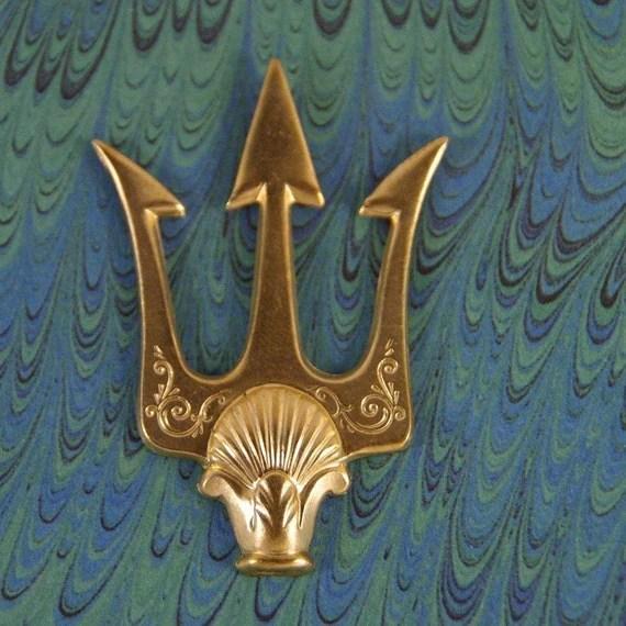 Trident And Poseidon Horse