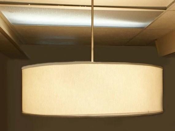 Make Drum Pendant Light