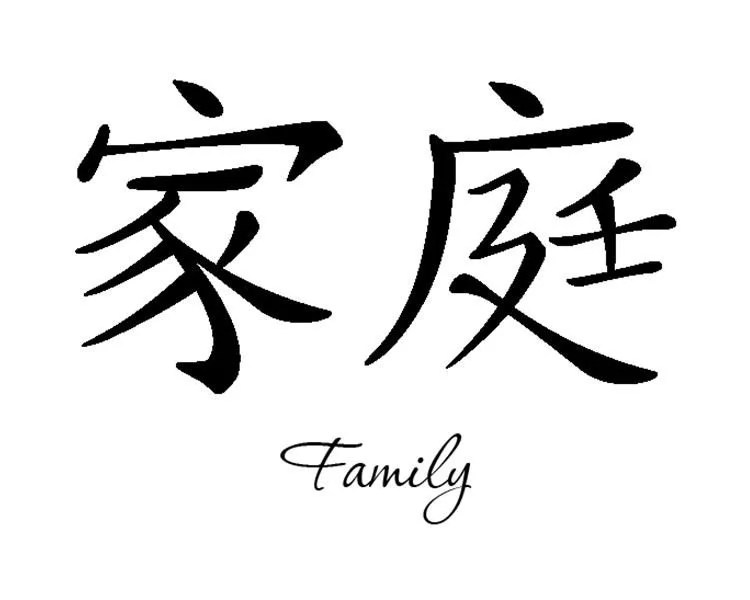 Forever Chinese Symbol For Family