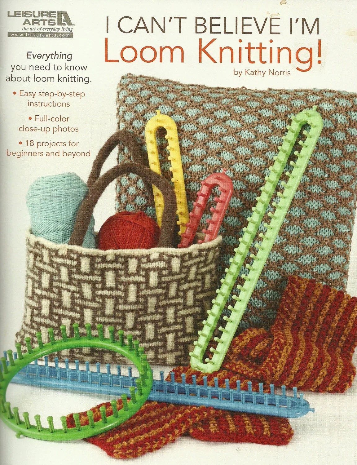 Loom Knitting Stitches Book