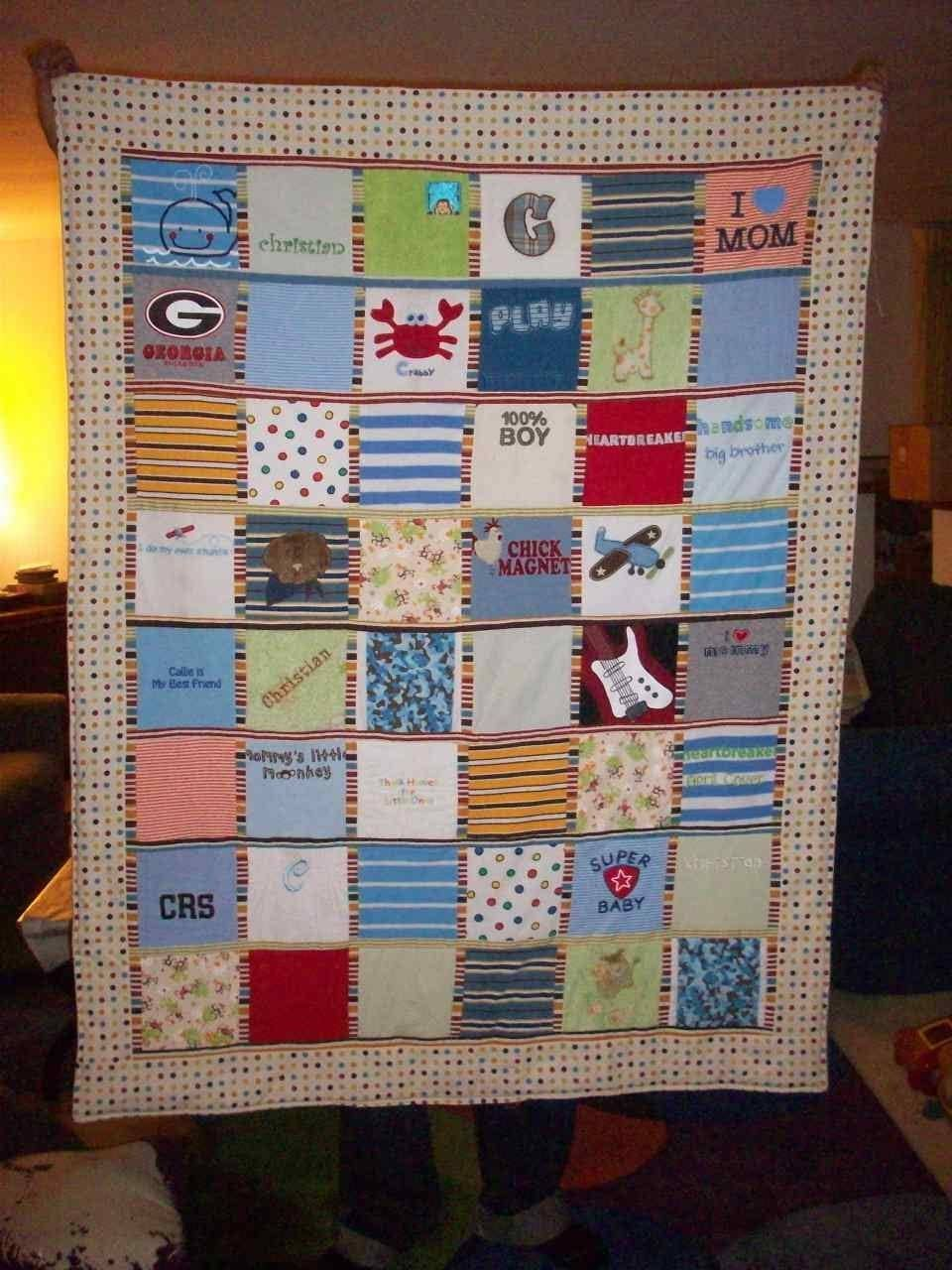 Making Quilt Old Clothes