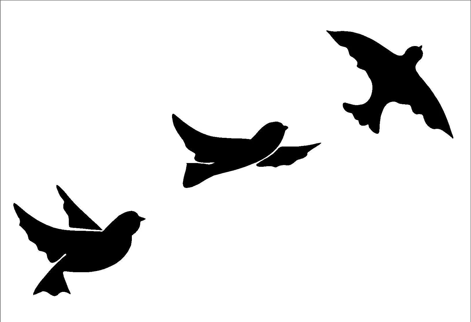 Birds Flight Wall Art