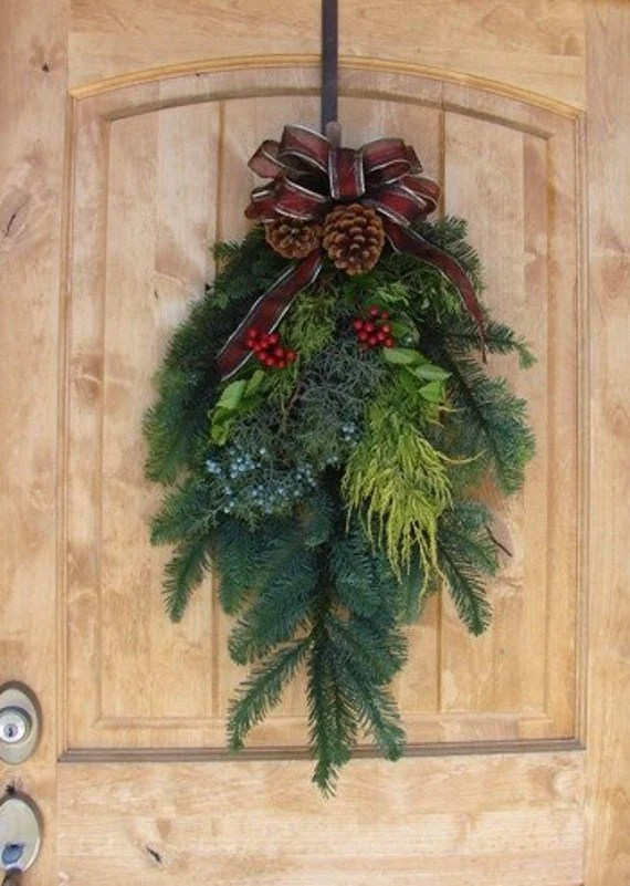 Christmas Evergreen Swags
