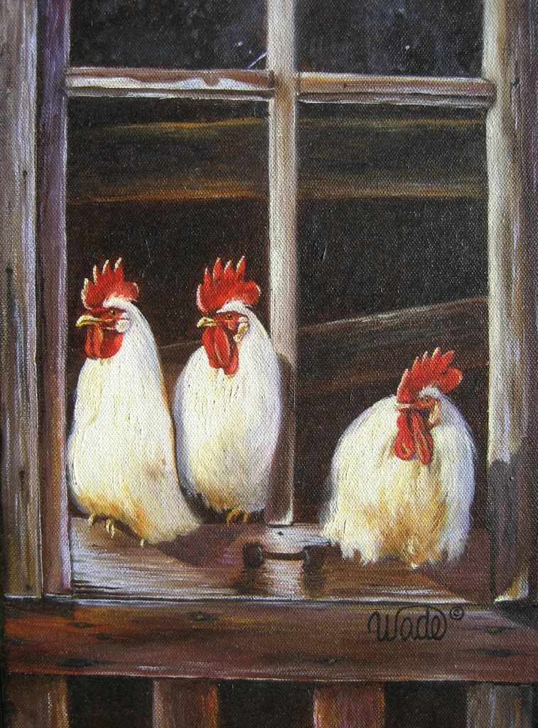 Kitchen Decor Roosters