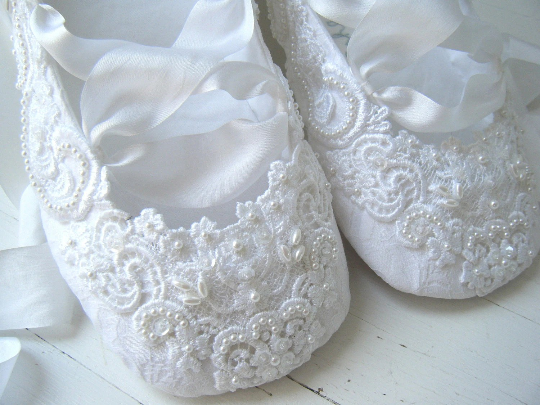 Ballet Wedding Shoes