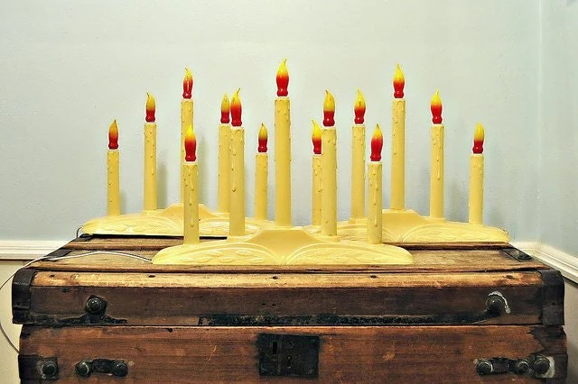 Christmas Window Candle Light Bulbs