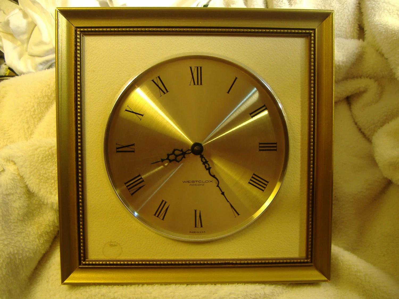 Vintage 1960s Westclox Nocord Wall Clock