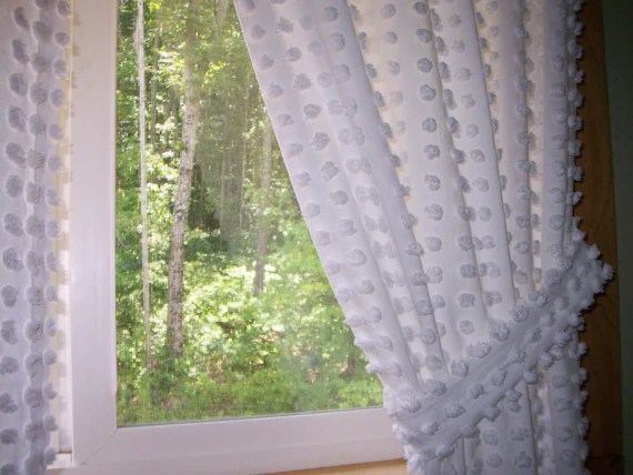 Vintage Chenille Curtains