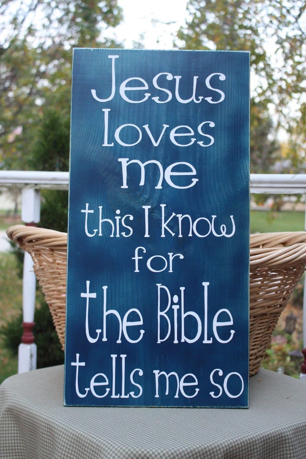 Items Similar To Wooden Sign With Vinyl Lettering Jesus