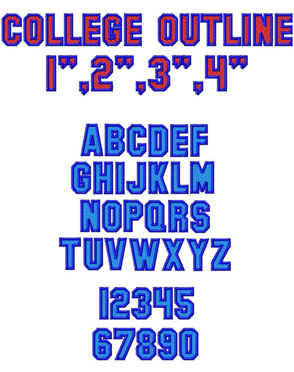 2 Different Font Ex