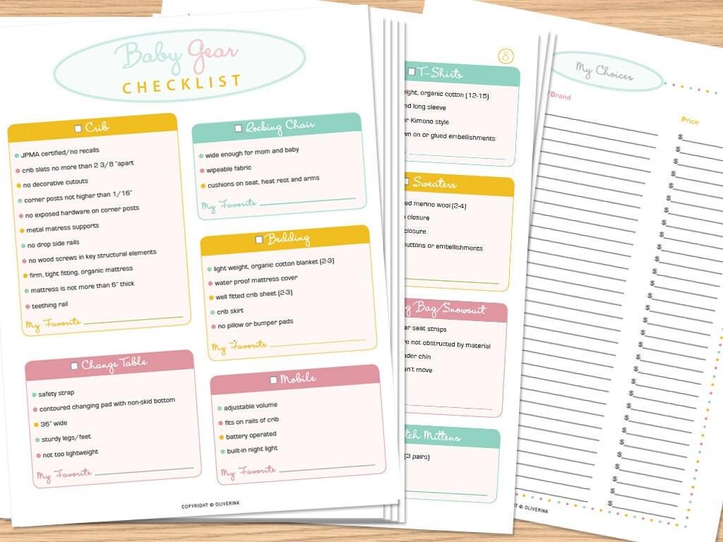 Walmart Baby Shower Registry Checklist