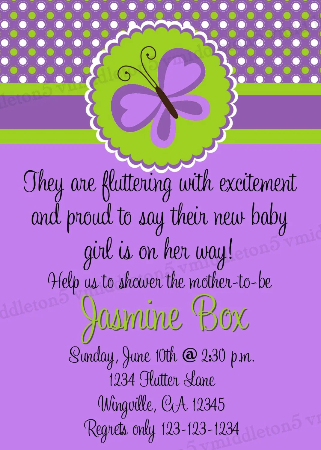 Ready Pop Baby Shower Invites