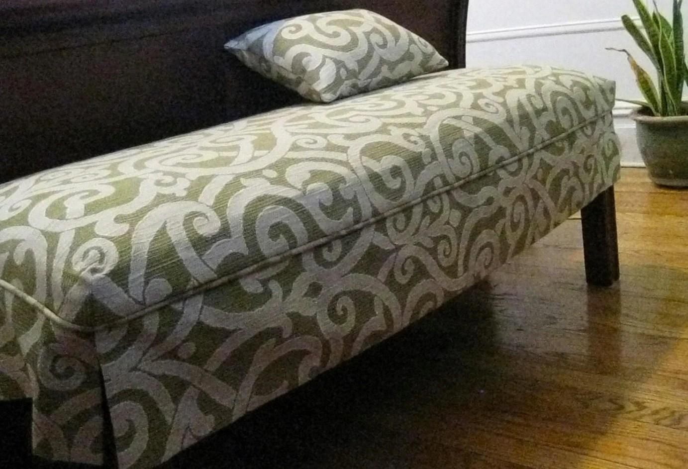 Furniture Slipcover Bench Slipcover Ottoman Slip