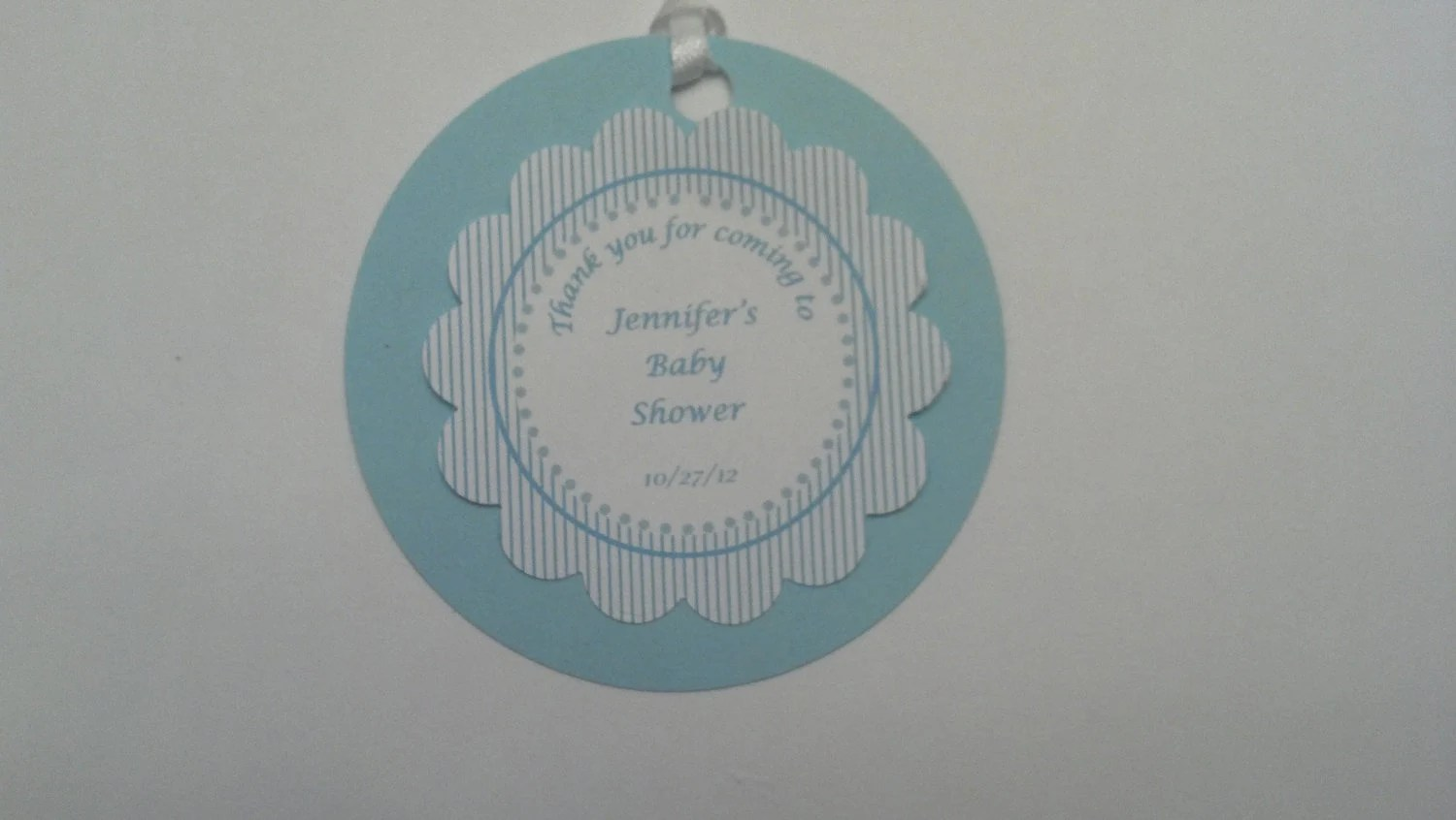 Favor Tags Baby Shower