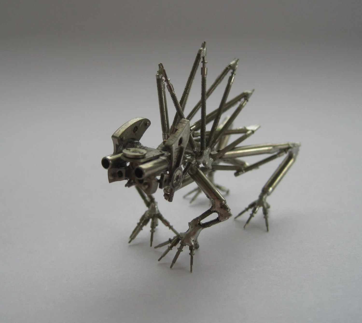 Mechanical Creature Spike Recycled Watch Parts by ...