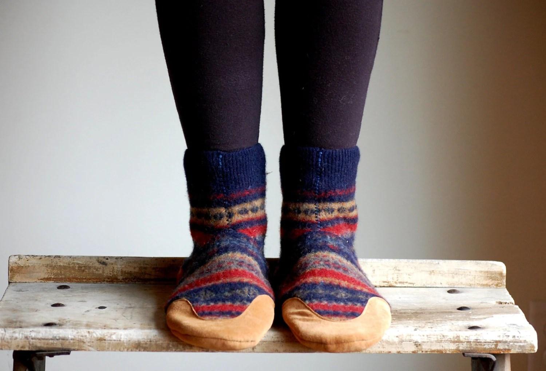 Women Slippers Wool House Shoes Eco Friendly women size