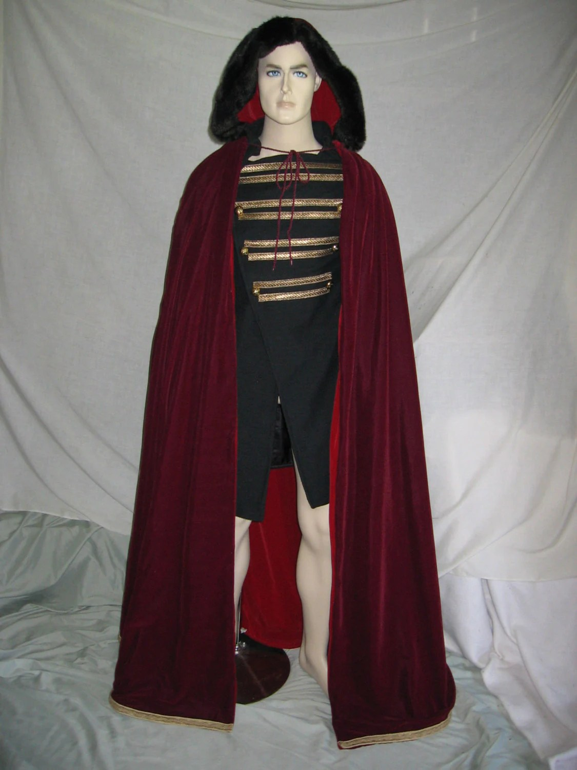 Custom Made Twilight Aro S Tunic And Cloak
