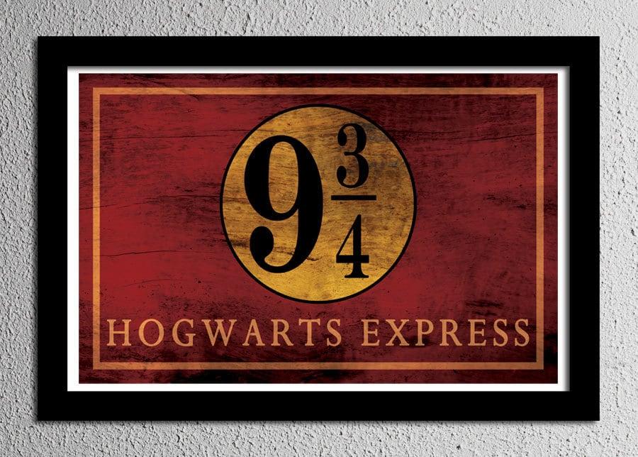 Harry Potter Hogwarts Express Platform 9 3/4 by ...