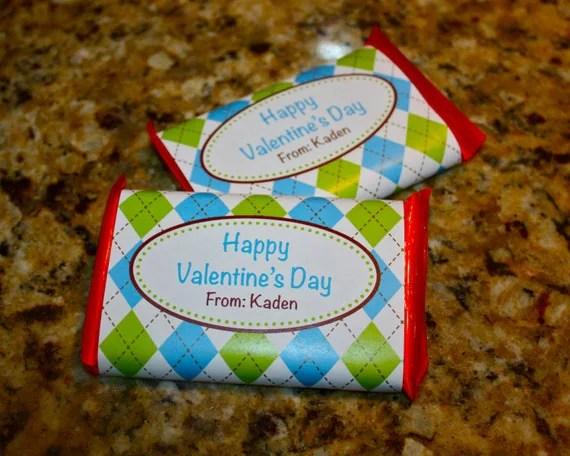 Diy Printable Valentines Kit Kat Candy Bar Wrappers