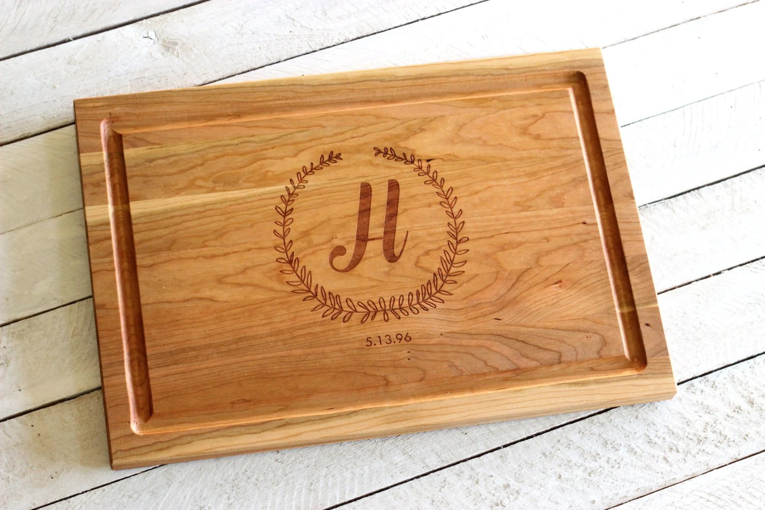 Personalized Win Cutting Board Christmas