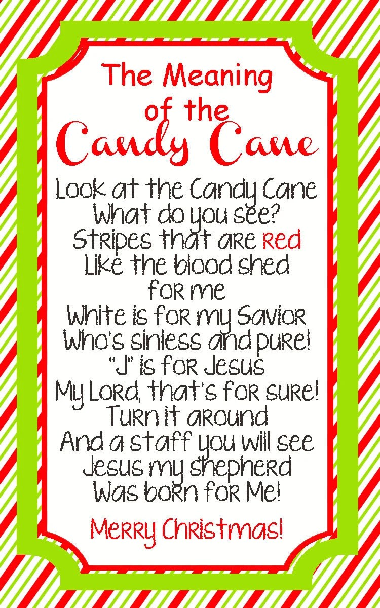 INSTANT DOWNLOAD: Legend of the Candy Cane by ...