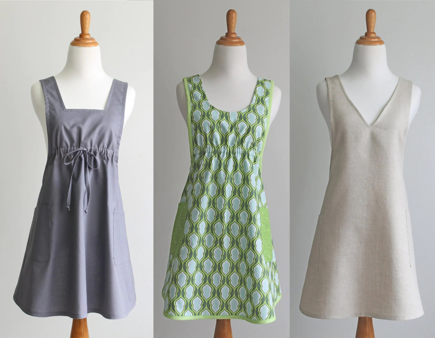 Crossback Apron Sewing Pattern Pdf The Back Wrap Instant