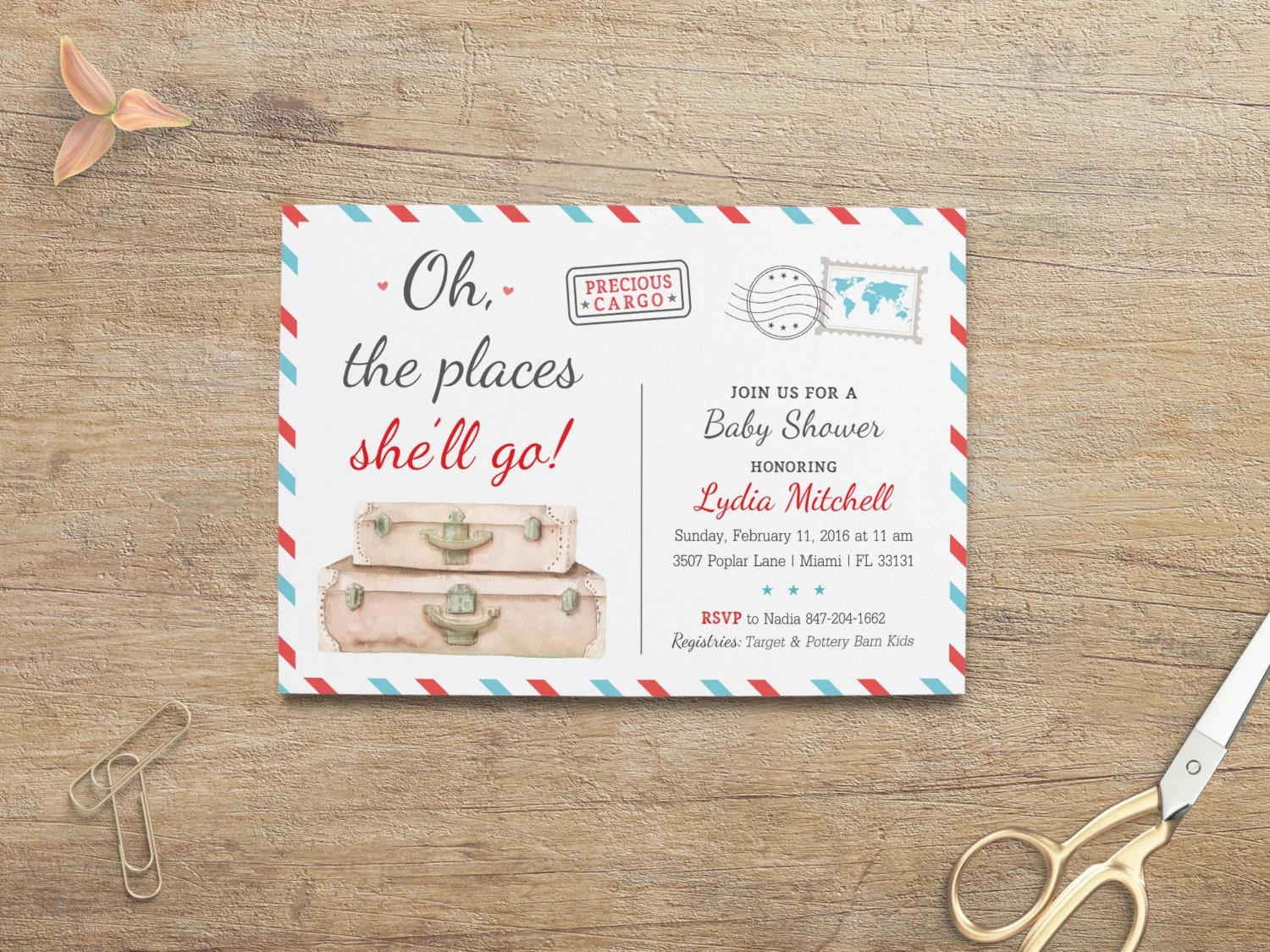 Places Have Invitations Printed