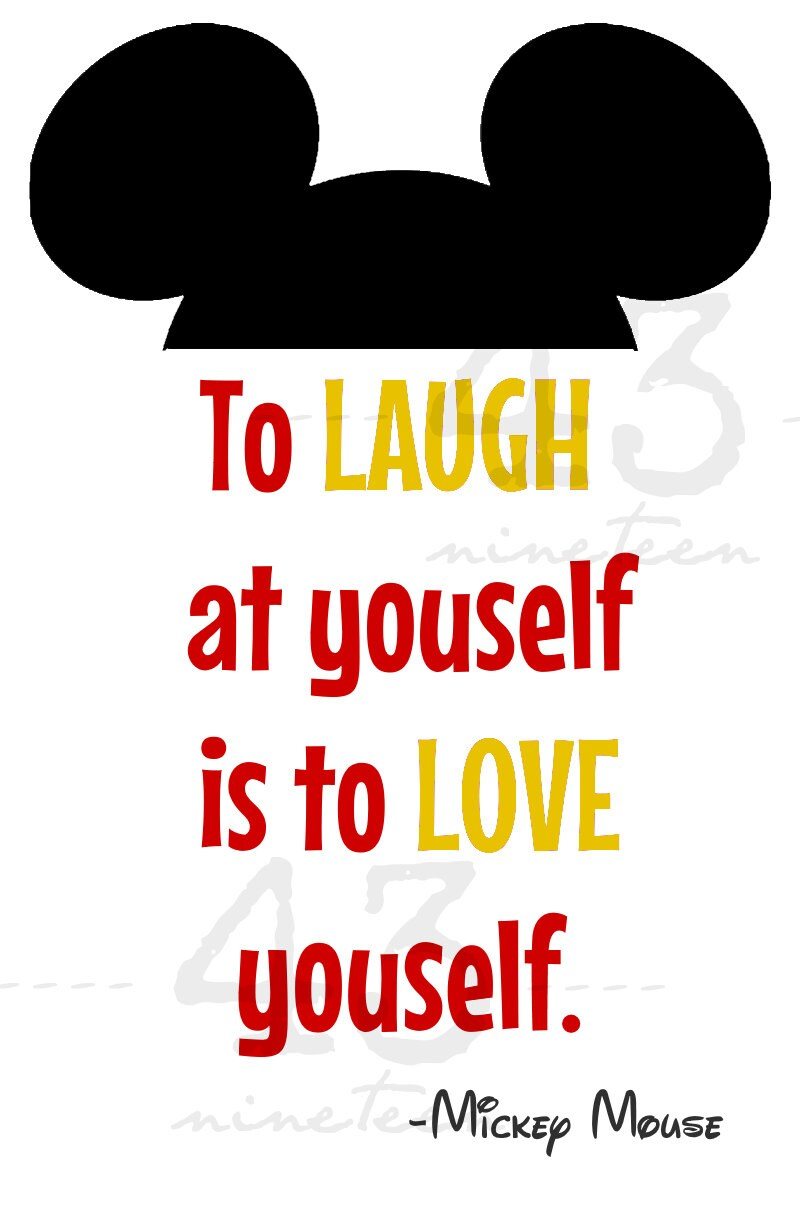 Laugh Yourself Love Yourself