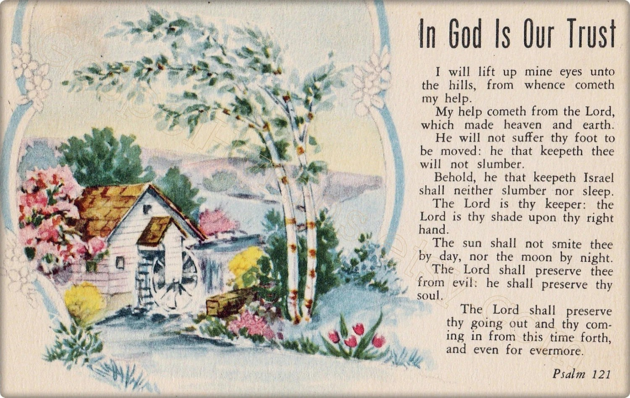 Psalm 121 King James Version Printable