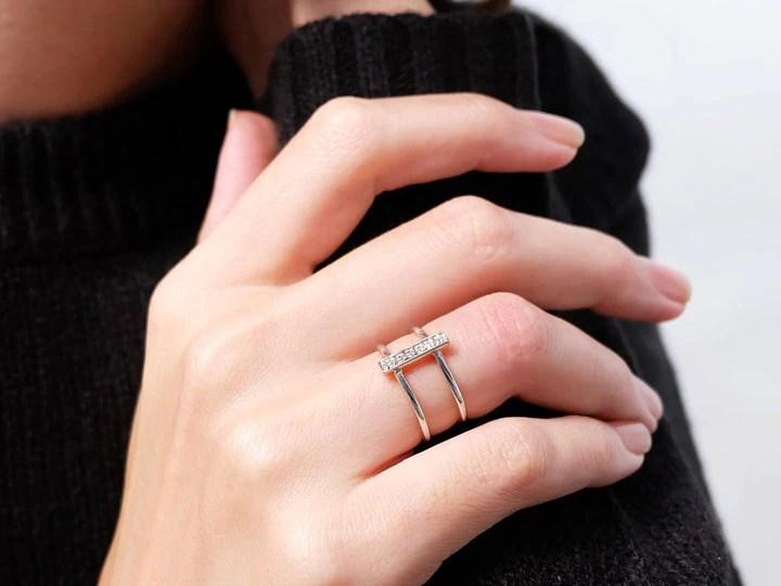 Star Wedding Wars Holder Ring
