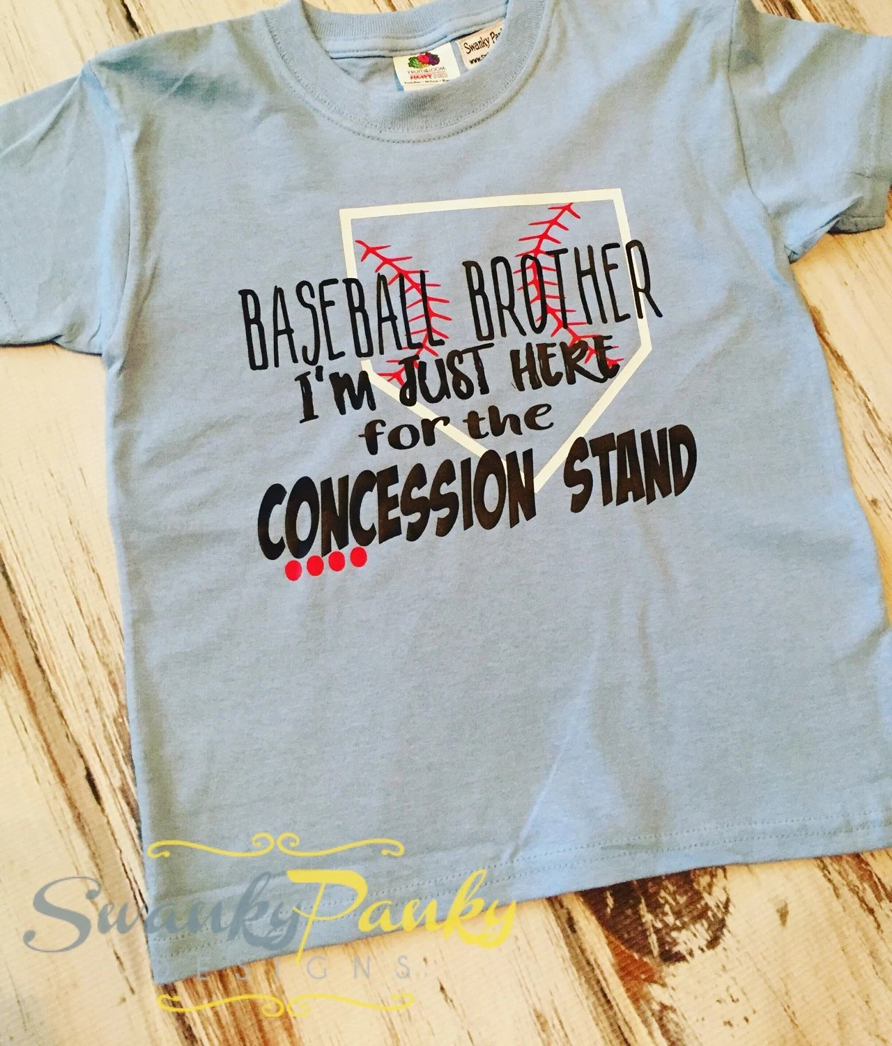 Baseball Brother Baseball Cousin I M Just Here For The