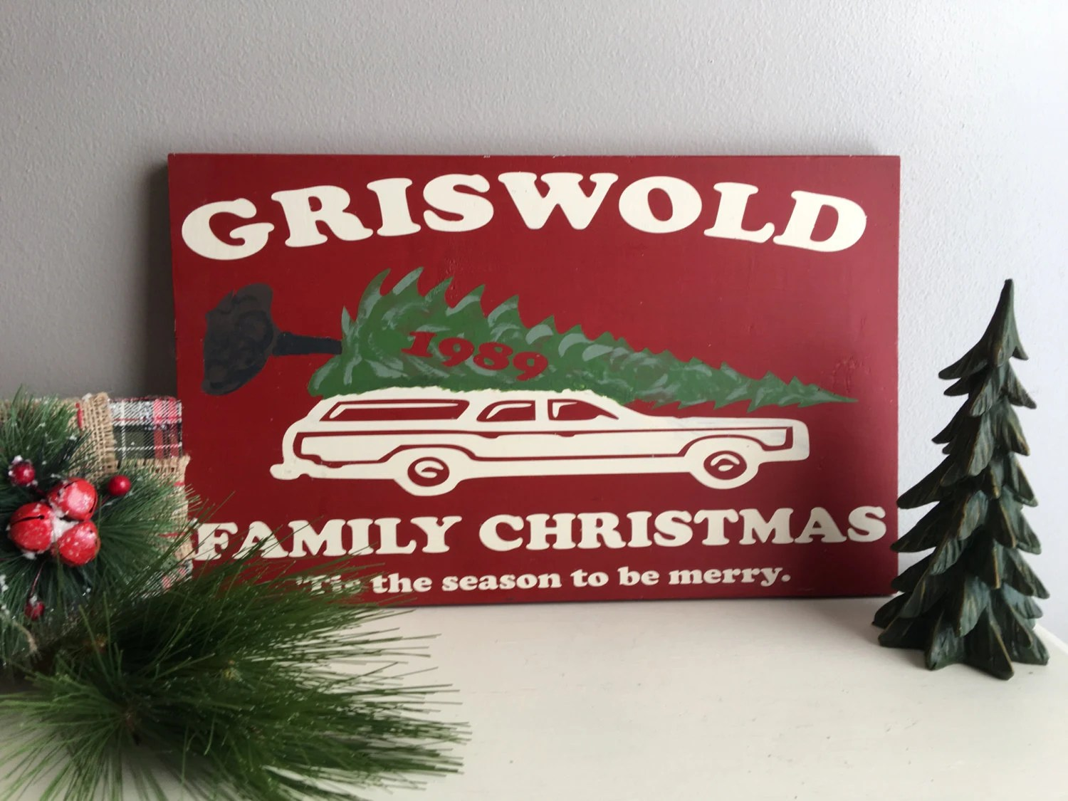 griswold christmas vacation decorations