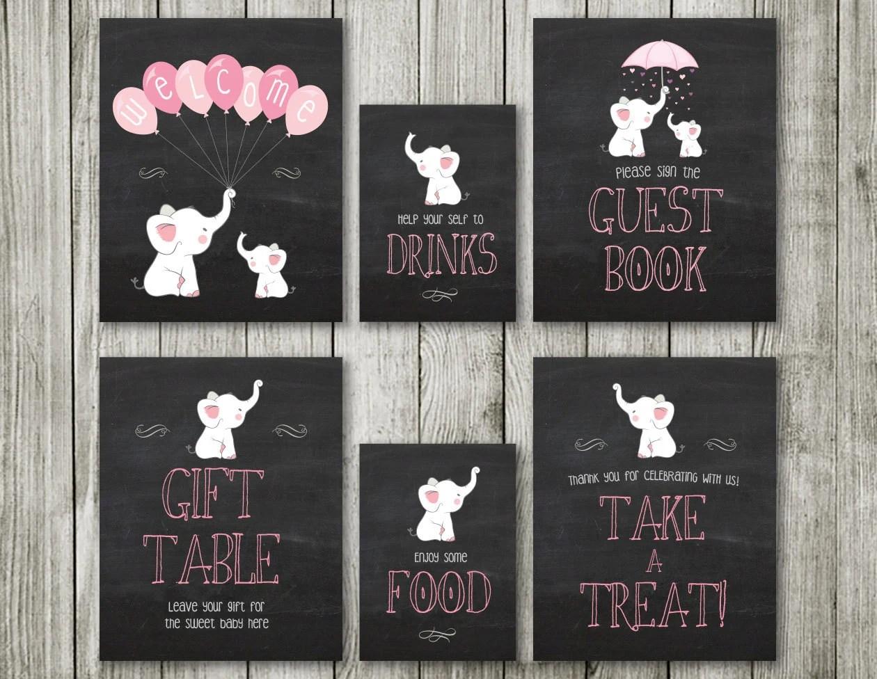 Elephant Baby Shower Invitations 10