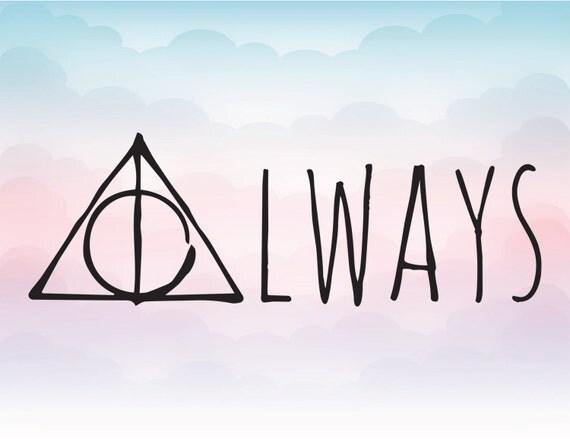 Harry Potter Deathly Hallows Symbol Tattoo
