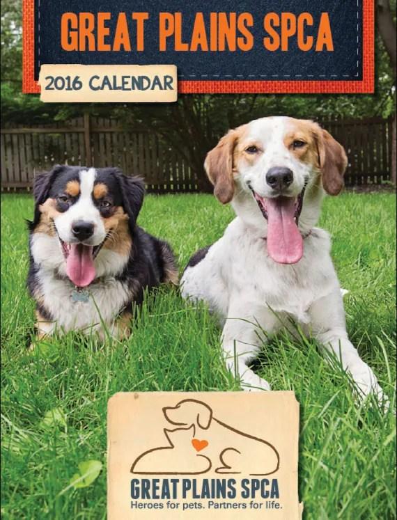 SALE: 2016 Great Plains SPCA Calendar by GreatPlainsSPCA ...