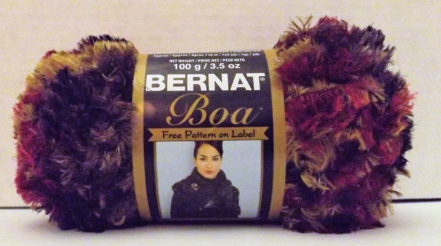 Knitting With Bernat Boa