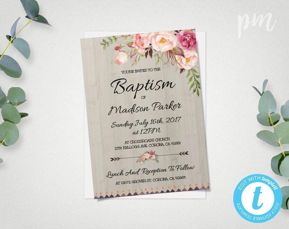 Printable Baptism Cards