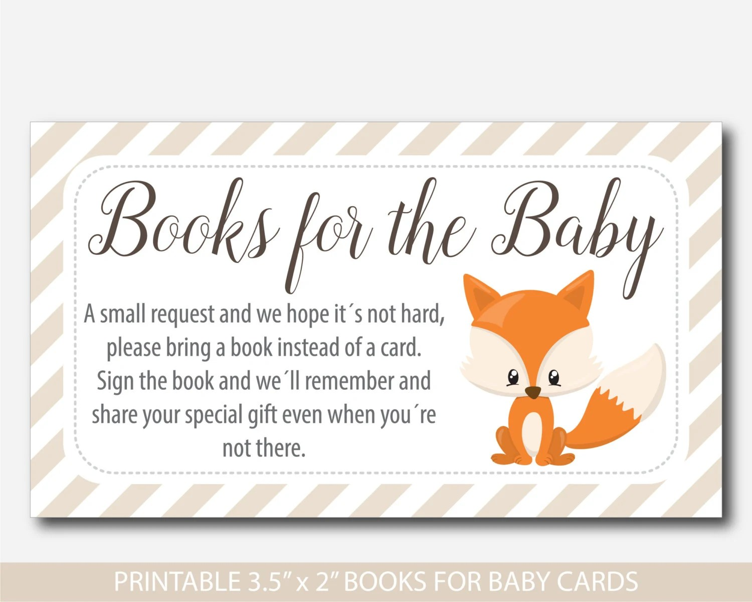 Bring Book Inserts Baby