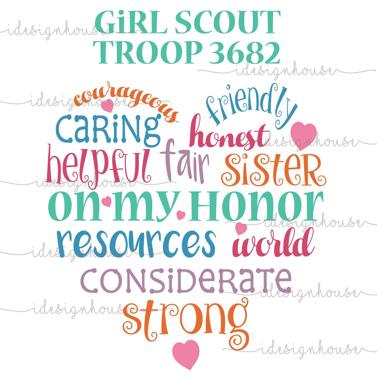 Svg Girl Scout Leader Shirt