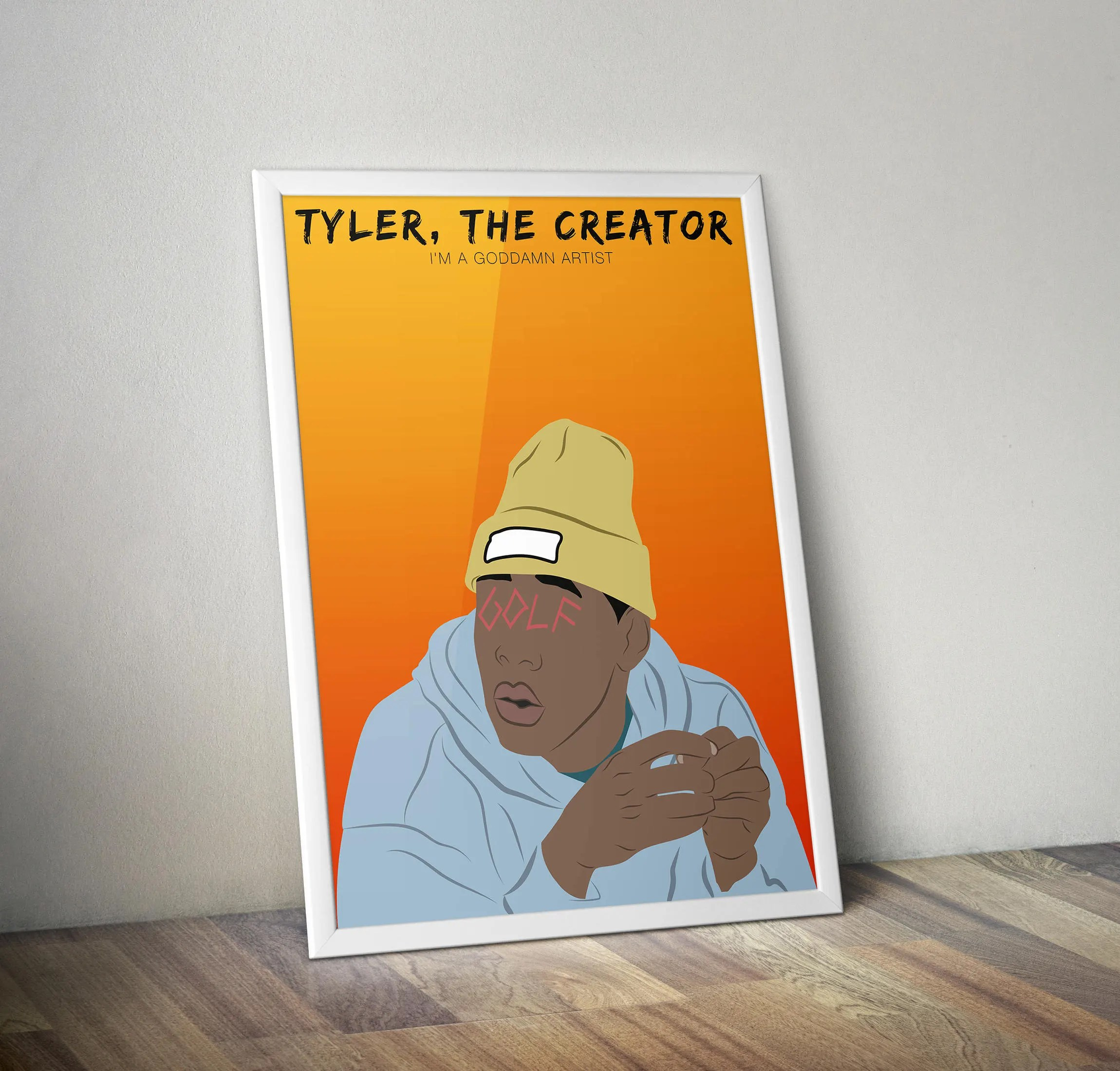 Tyler Creator Wolf Artwork