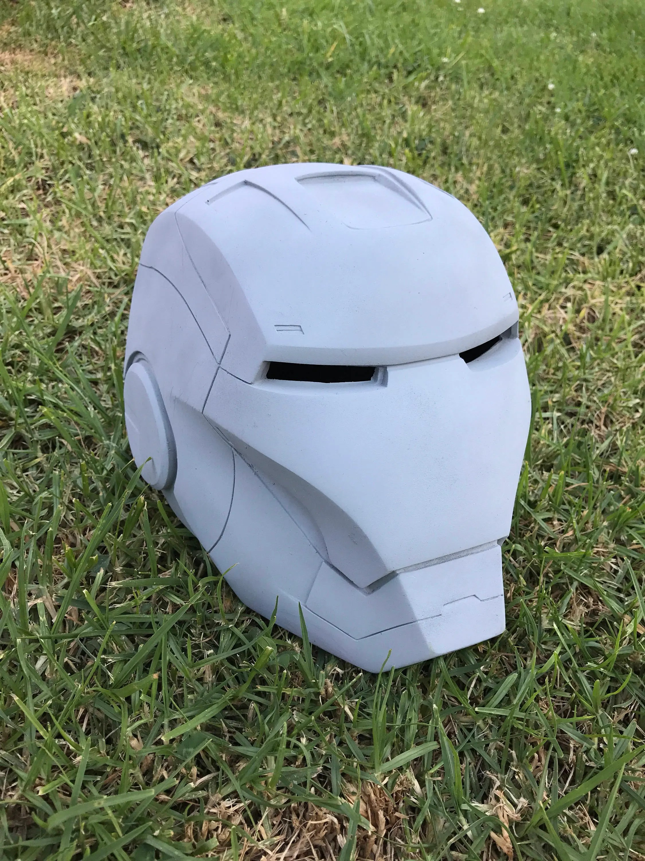 Ready to Ship: Large/XL Size Iron Man Helmet Raw Cast or