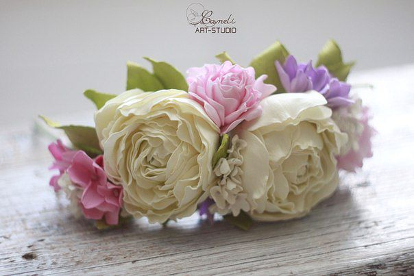 цветы из фоамирана 2 (604x403, 162Kb)