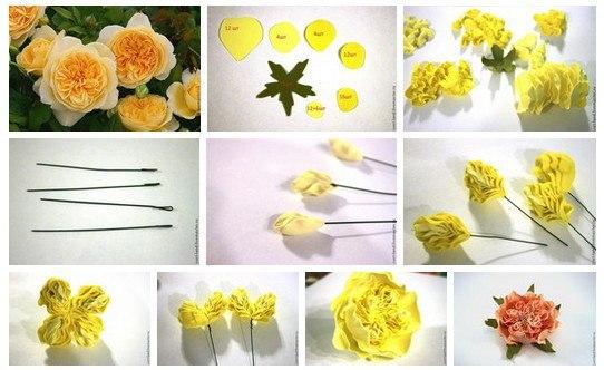 цветы из фоамирана 5 (542x332, 176Kb)