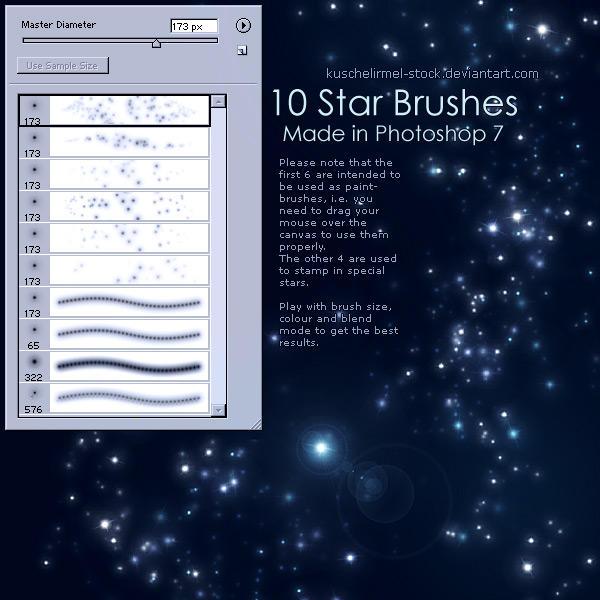 Paint Tool Sai Brushtex Star