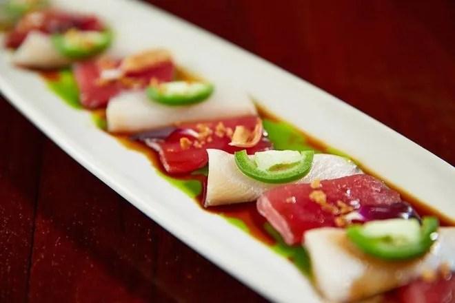 Pacific Fish Grill Menu