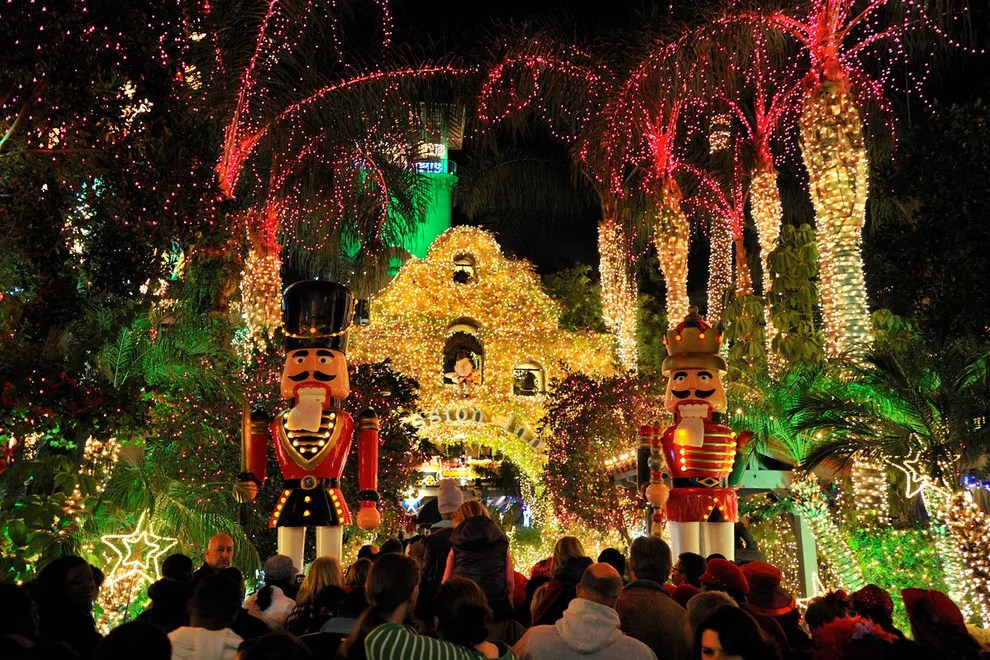 Mile Magnificent Festival Lights